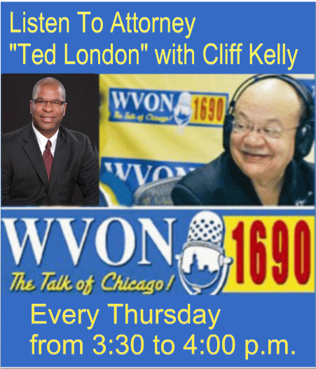 "Join Attorney Theodore ""Ted"" London, as he co-host ""The Legal Line"""